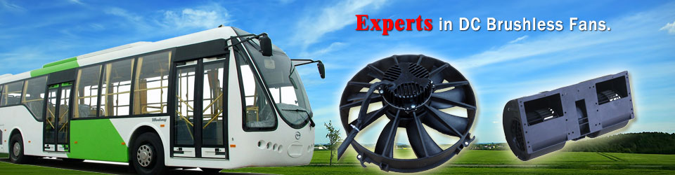 Experts in DC Brushless Fans